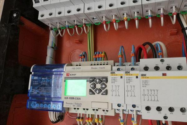 Монтаж электрощитов и автоматов