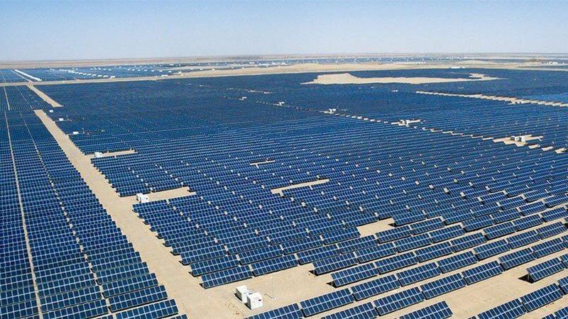 Самая крупная в мире солнечная электростанция Noor Abu Dhabi